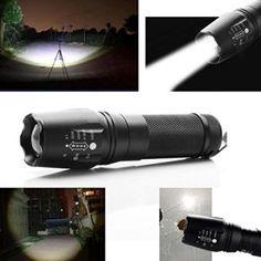 japace ultra puissante lumens cree xm l t led lampe de poche torche