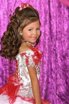 Pageant Hairstyles For Little Girls Il Miss Princess The