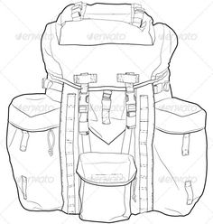 Back to school backpacks, Coloring pages and School