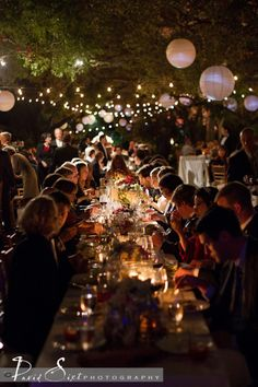 Garden Party By Night Let's PARTY Pinterest Gardens