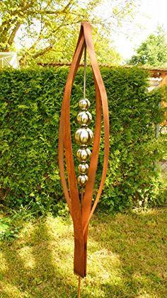 Garten Deko Rost Skulptur Meter Gartendeko Rostsaulen Zum Mutter Awiesmueller Gartendekoshop