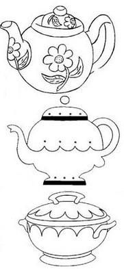 1000+ images about Teapots & Coffee Coloring Pages on