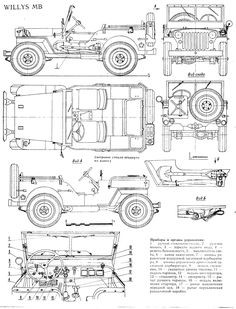 1941-1945 Jeep Willys MB & GPW Body Parts & Accessories