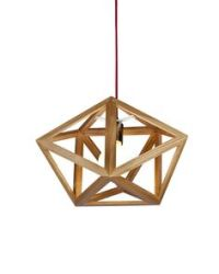 UP TRIANGLE Designer Timber Pendant, 176   Bhakti Design ...