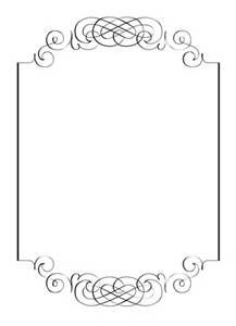 Printable pink rose border. Use the border in Microsoft