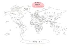 Oliver jeffers, Roads and Road maps on Pinterest