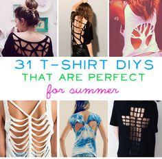 31 T-Shirt DIYs That