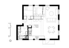 Floor Plan of the Robie House. Frank Lloyd Wright. Hyde