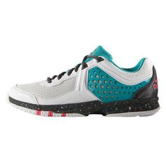 chaussures adidas counterblast femme blanc noir turquoise