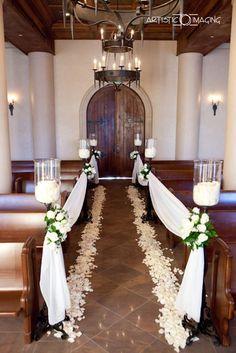 1000 ideas about Small Church Weddings on Pinterest  Church Wedding Decorations Wedding