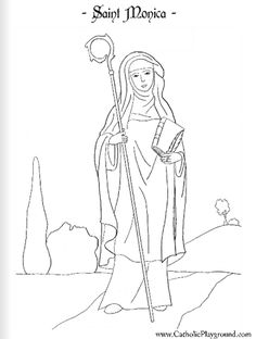 Another St. George Catholic Coloring Page Feast day is