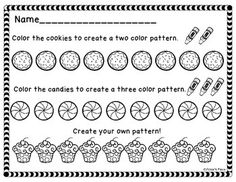 This activity allows students to practice AB patterning in