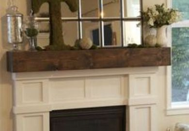 Ideas About Fireplace Mantel Decorations On