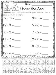รวมใบงาน / แบบฝึกหัดวิชาคณิตศาสตร์ระดับประถมศึกษาจากครู
