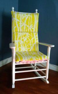Rocking chair cushions, Chair cushions and Chair cushion ...
