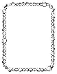 Printable literacy border. Free GIF, JPG, PDF, and PNG