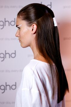 backstage with ghd at emma mulholland at australian fashion week hair created by alan white