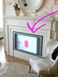 1000+ images about Fireplace coverup on Pinterest ...