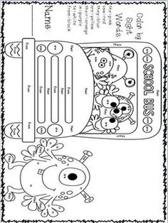 Free Shape Monster Book. Shape Monster, Shape Monster