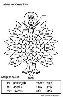 Free Printable Spanish Worksheets For Second Grade