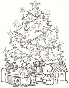 cocolico-creations: Mercredi Coloriage # 22, Joyeux Noël