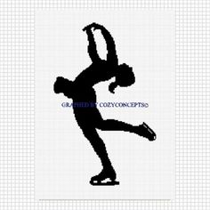Ballet Ballerina Shoes Afghan Crochet Pattern Graph