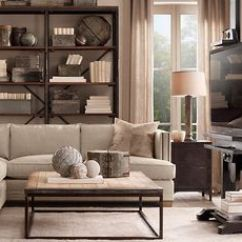 Gold Sectional Sofa Antique Sofas And Chairs Restoration Hardware Office On Pinterest | ...