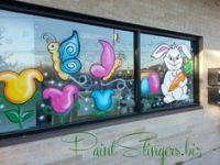 Window painting ideas on Pinterest | Christmas Windows ...