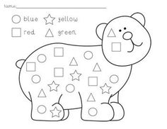 Learning Shapes: Circle worksheets and coloring pages #