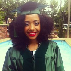 Cap & Gown Hairstyles For Natural Hair MyNaturalTresses