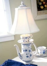 1000+ ideas about Teapot Lamp on Pinterest | Lamps, Shabby ...