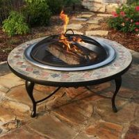 Alhambra outdoor fire pit model #FT150PWISMLID Show this ...