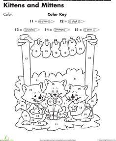 The Three Little Kittens Handwriting Practice Worksheet
