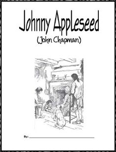 Johnny Appleseed Word Search, Crossword Puzzle and More