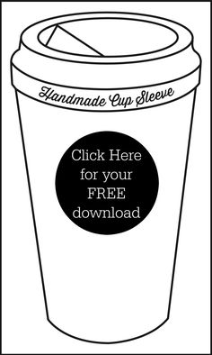 new McCafé single brew coffee with printable cup sleeve