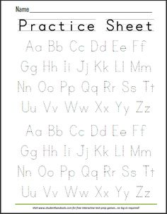 A worksheet like this can guide students when learning how