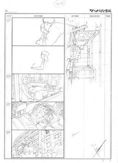 C37 (animation layout design) + unused storyboard / Bahi