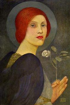 Fernand Edmond Jean Marie Khnopff 1858 1921 Peintre