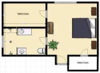 design a 11x12 bathroom floor plan   Sharp Master Bedroom ...