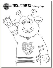NHL Ice Hockey Printout at coloring-pages-book-for-kids