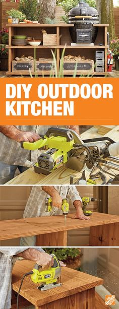 prep tables for kitchen design images how to build a bbq grilling station or grill surround ...