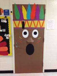 Classroom door fall decoration my preschool toddler ...