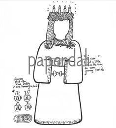 1000+ images about Paperdolls 11- Black and White on
