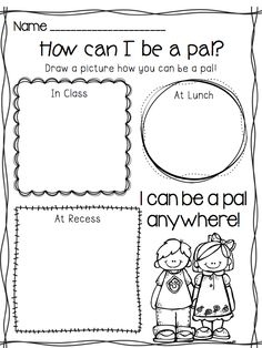 1000+ Images About Kindergarten Friendship And Kindness On Pinterest  Bullying, Social Skills
