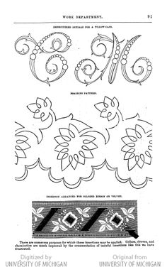 1000+ images about Embroidery Patterns & Monograms on