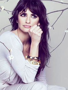 Penelope Cruz To Rome With Love Perfect Messy Bangs ♥ Hair