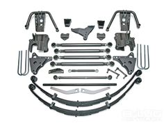 4.5-in Ford Super Duty 4-Link Coilover Conversion System
