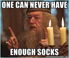 Dumbledore saying