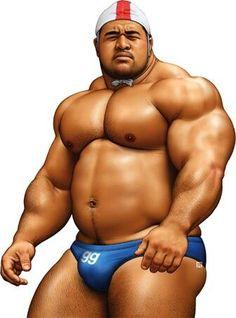 gay bear bara muscle solo