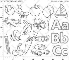 Printable Lower Case Alphabet Letter t Template for Kids